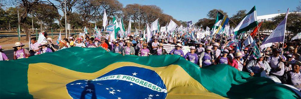 Ato virtual nesta quarta marca os 20 anos de Marcha das Margaridas